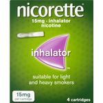 Nicorette inhalator 15mg 4 pack - 4 pack