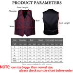 Brand Mens Suit Vest Formal Dress Waistcoat Business Casual Sleeveless Jacket Wine Red Party Wedding Vest Bow Tie Set DiBanGu