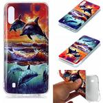 Animal Series Patterned IMD TPU Case for Samsung Galaxy M10/A10 - Dolphin