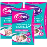 Calpol Vapour Plug Refill Pads Triple Pack