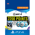 2200 UFC 4 Points - ps4
