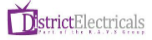 District Electricals Logotype