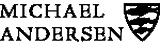 Michael Andersen Ceramics Logotype