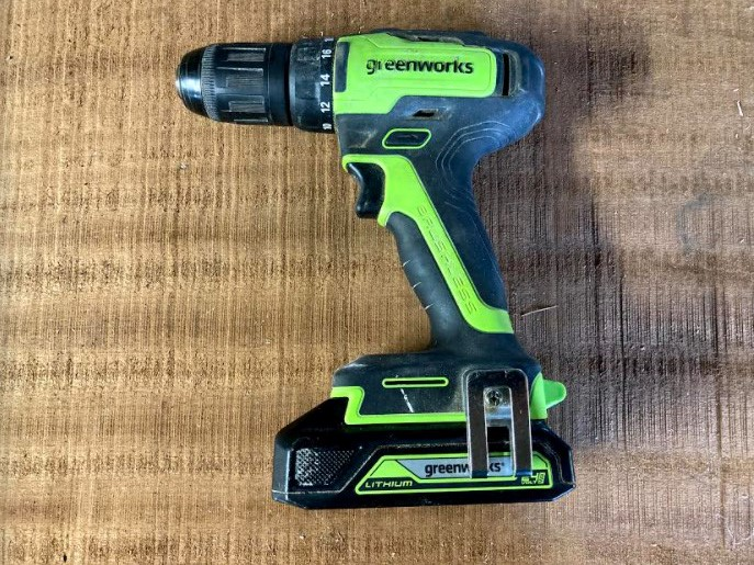 If you already have products from Greenwork's 24-volt range, you can share a battery between the machines.