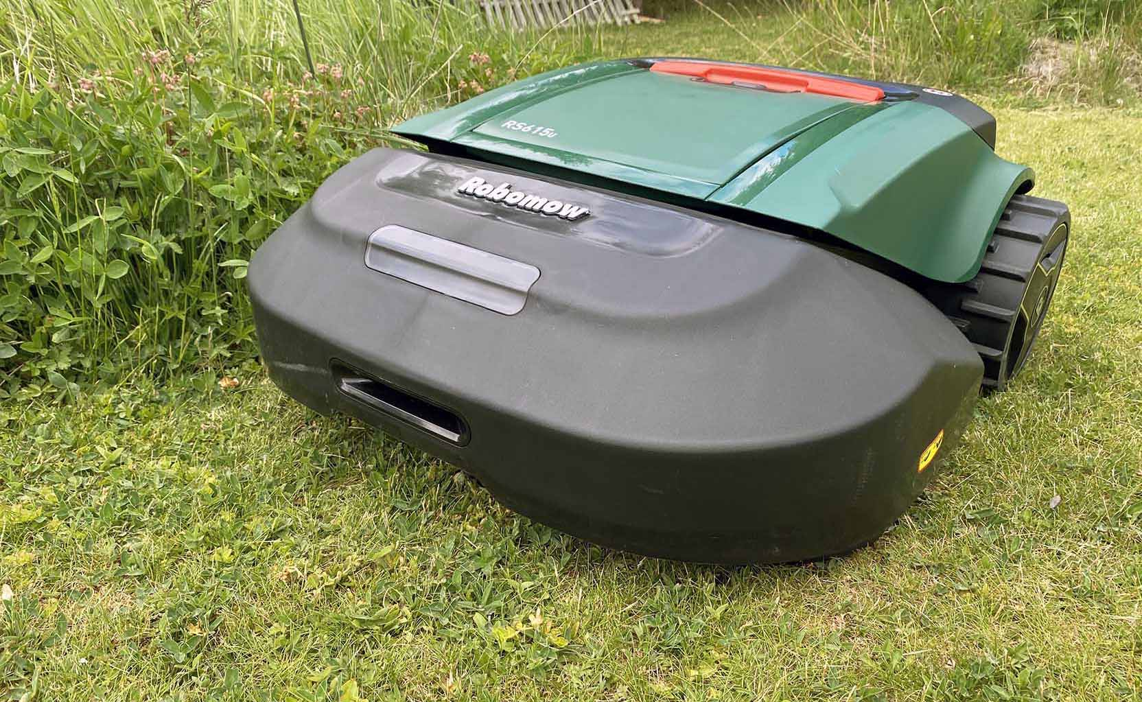 The Robomow RS 615u is a true colossus of efficient lawn mowing
