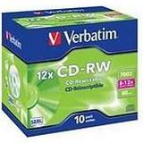 Verbatim CD-RW 700MB 12x Jewelcase 10-Pack