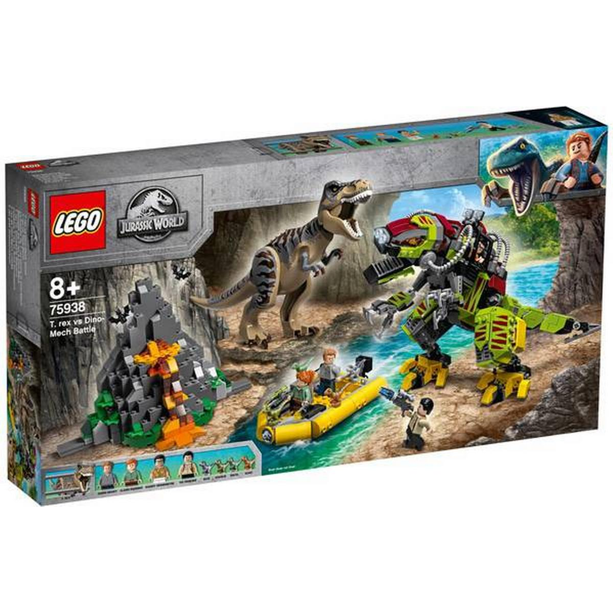 Lego Jurassic World Tyrannosaurus Rex Mini Foil Pk