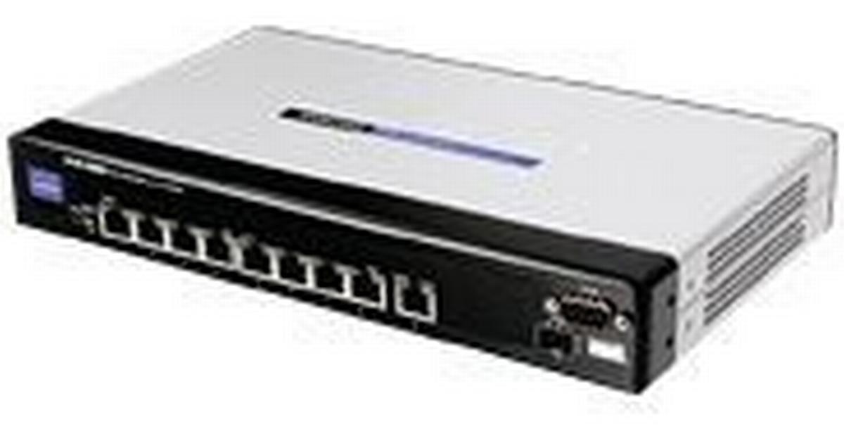 Linksys 8-Port 10/100 Mbps Ethernet Switch (SRW208G)