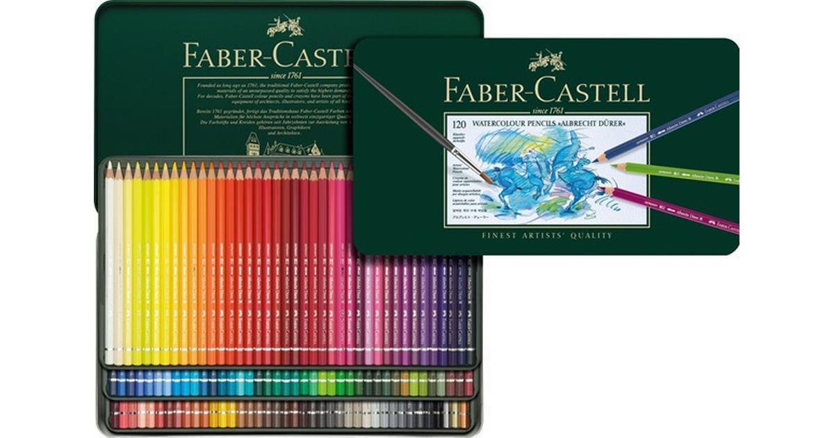 fabercastell albrecht dürer watercolour pencils tin of