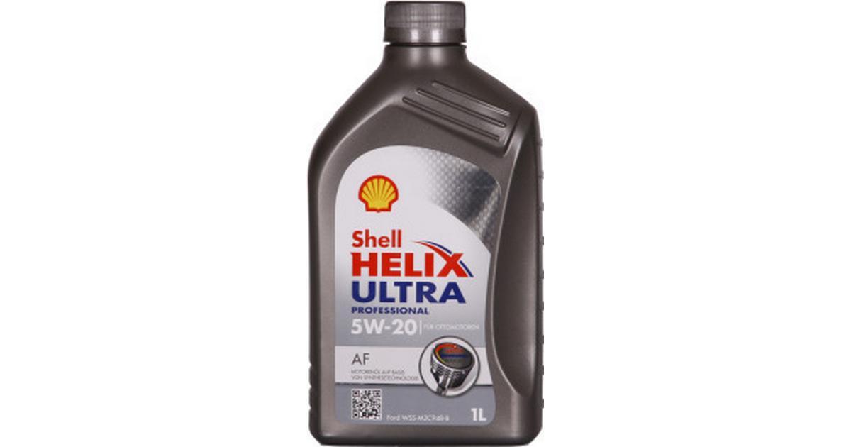 shell helix ultra professional af 5w 20 1l motor oil compare prices pricerunner uk. Black Bedroom Furniture Sets. Home Design Ideas