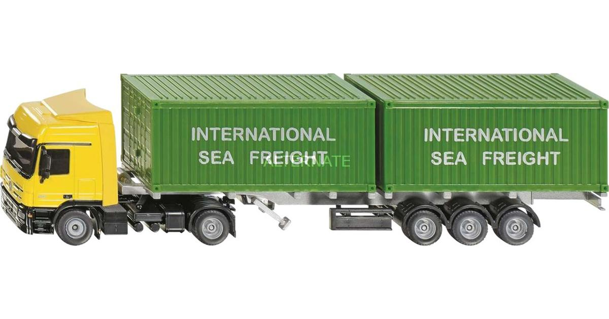Car Yellow by Siku Siku 3921?Model Lorry with Container