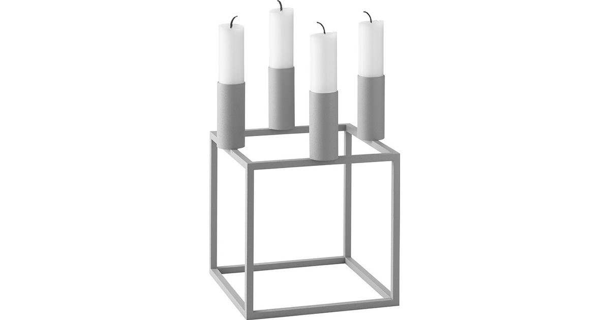 By Lassen Kubus 4 Advent Candle Holder Candlestick Compare Prices Now