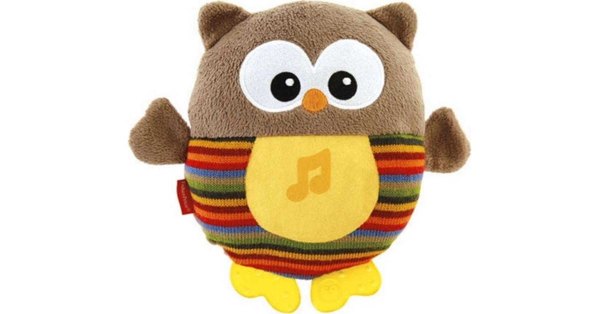 New-born Soft Cuddly Toy with Soothing Music Fisher-Price Soothe and Glow Owl