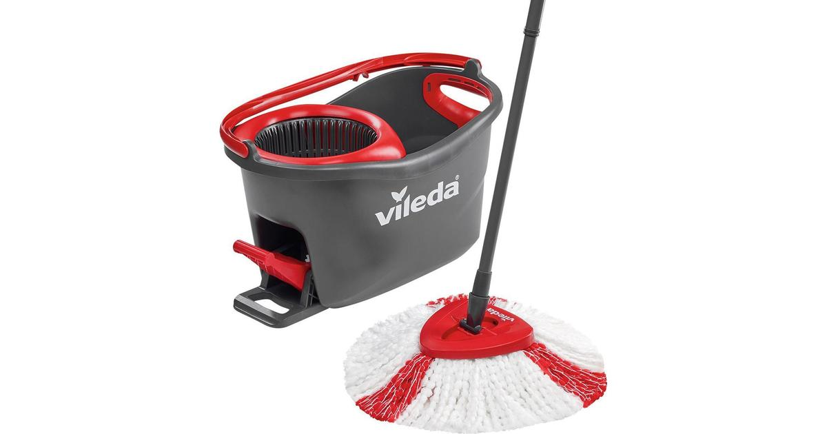 Vileda Easy Wring And Clean Turbo Mop Bucket Set