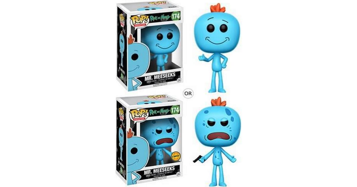 meeseeks Funko Pop-Rick And Morty-M 10 cm Figure-Chase