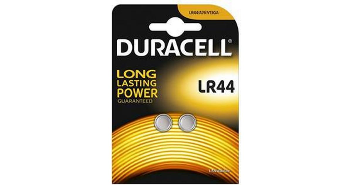 1.5V BUTTON CELL PK2 DURACELL   LR44 2PK   BATTERY