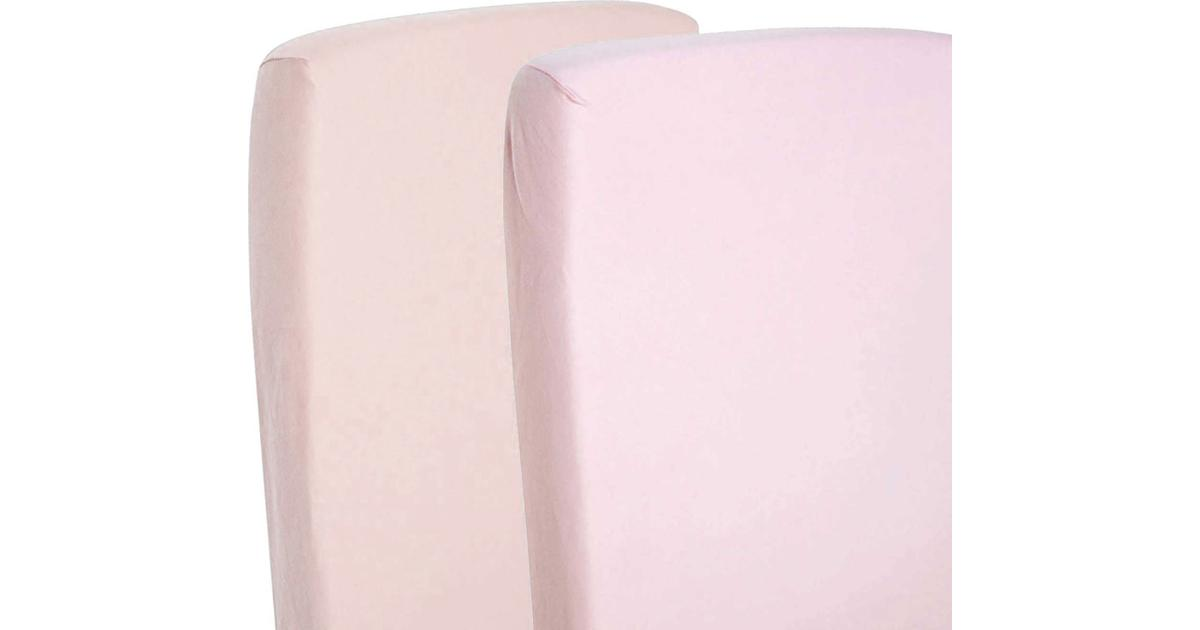 Cream Fitted Sheet Compatible With Snuzpod Bedside Crib 100/% Cotton