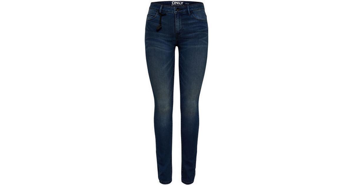 Women/'s Only Shape Life Cotton Blend Skinny Fit Stetch Denim Jeans in Black