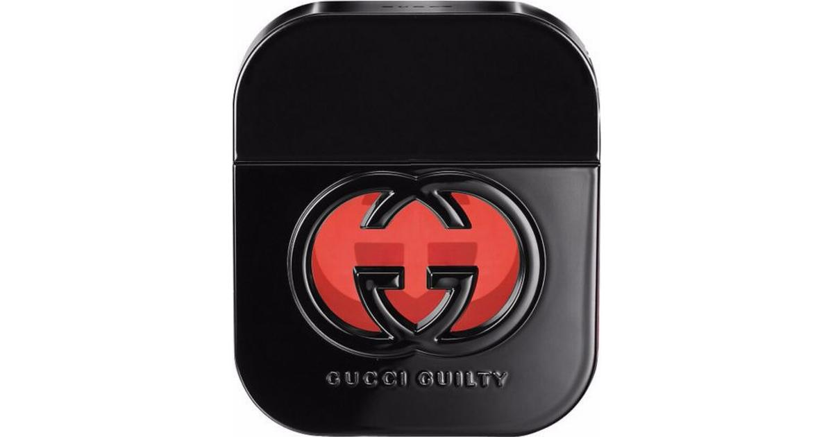 0e27b344b Gucci Guilty Black Pour Femme EdT 50ml - Compare Prices - PriceRunner UK