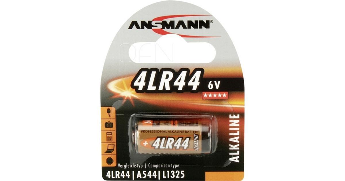 ANSMANN Alkaline Batterie 4LR44 6 Volt 1er Blister