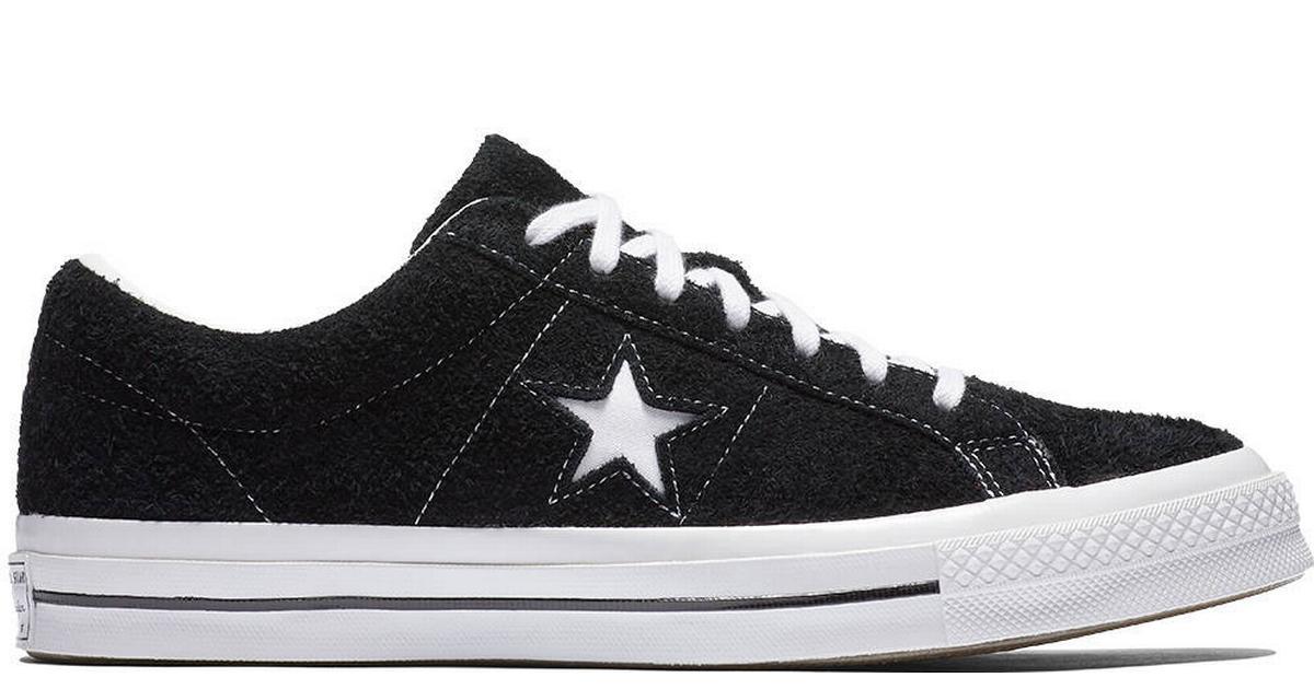 Converse One Star Premium Suede - Black