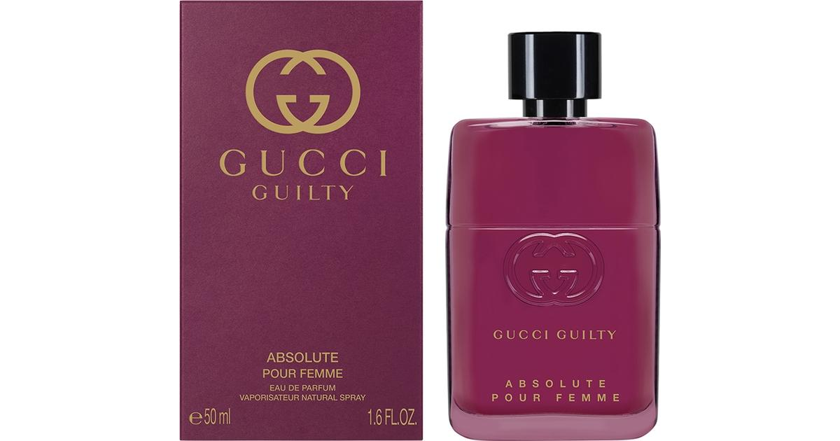 8ee11681c Gucci Guilty Absolute Pour Femme EdP 50ml - Compare Prices - PriceRunner UK