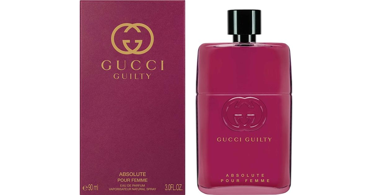 d548a91a07 Gucci Guilty Absolute Pour Femme EdP 90ml - Compare Prices - PriceRunner UK