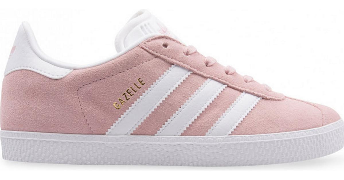 Adidas Junior Gazelle - Icey Pink/Cloud White/Gold Metallic