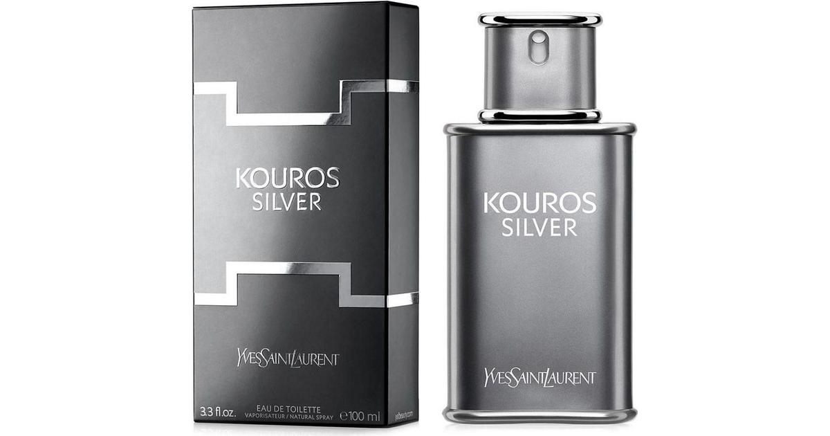 f2ccb7d22dc Yves Saint Laurent Kouros Silver EdT 100ml - Compare Prices - PriceRunner UK