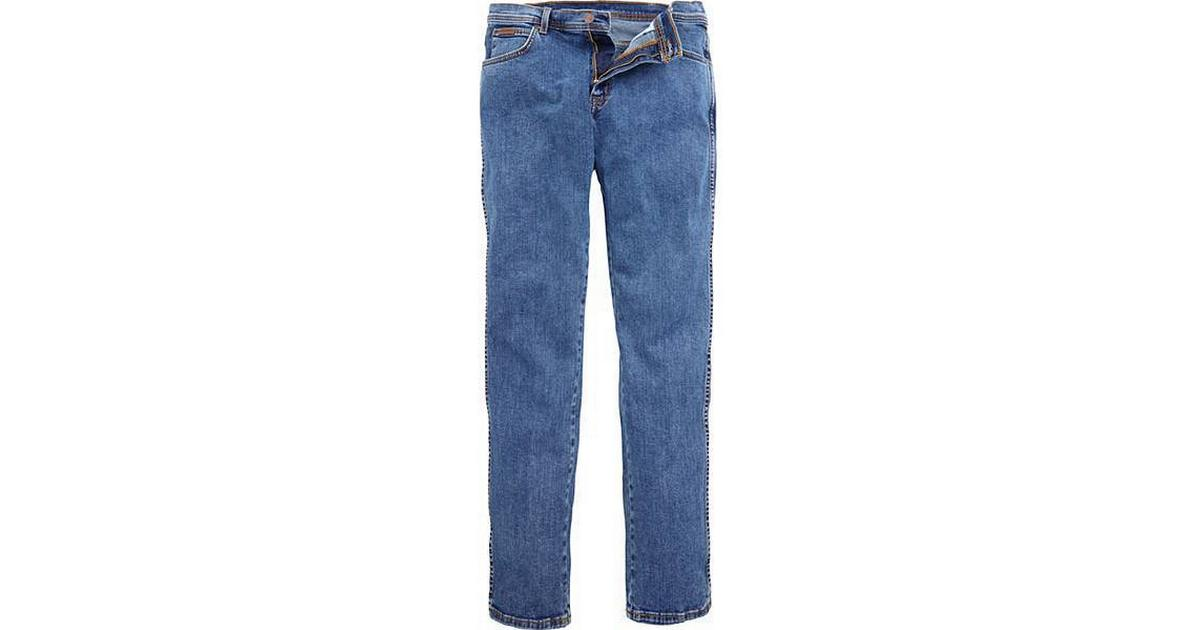 Wrangler Texas Stretch Jeans Darkstone Blue New Men's Denim Pants All Sizes