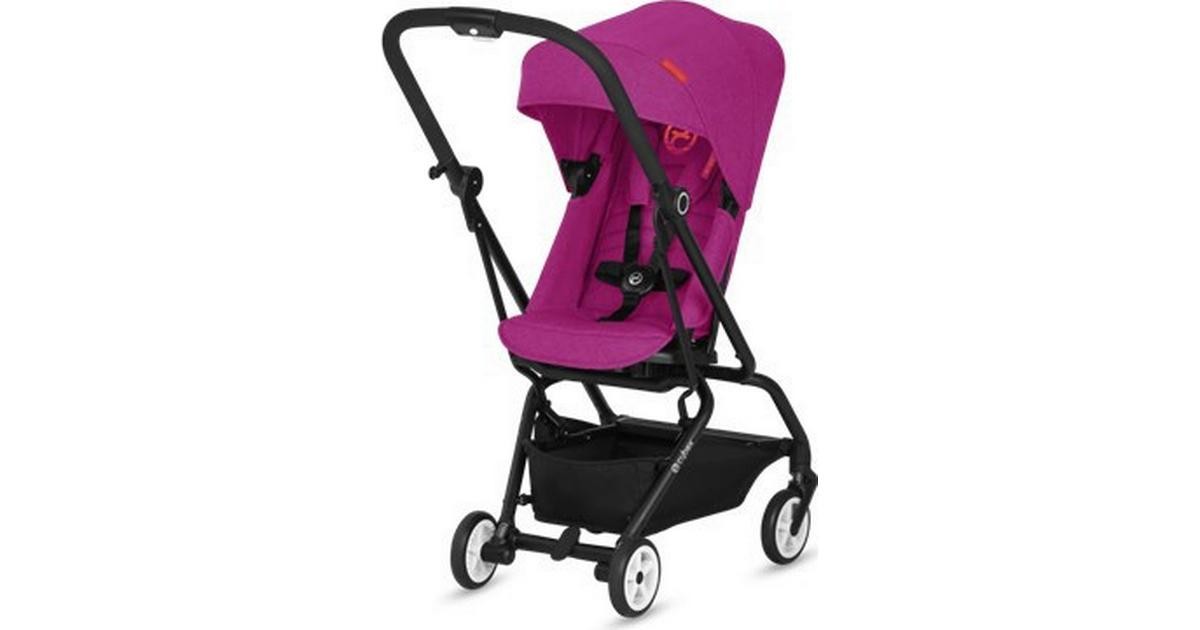 Manhattan Grey Ultra-Compact CYBEX Gold Eezy S Twist Compact Pushchair Denim Collection 360/° Rotatable Seat Unit Silver Anodised Frame From Birth to 17 kg approx. 4 years