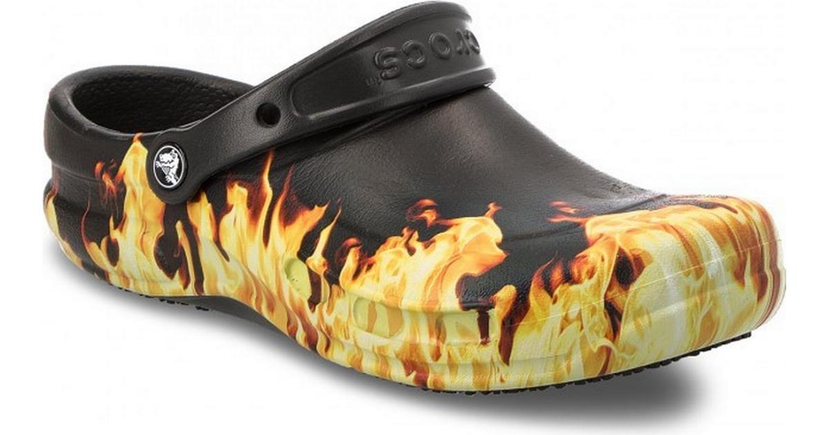 Crocs Bistro Graphic - Black/Yellow