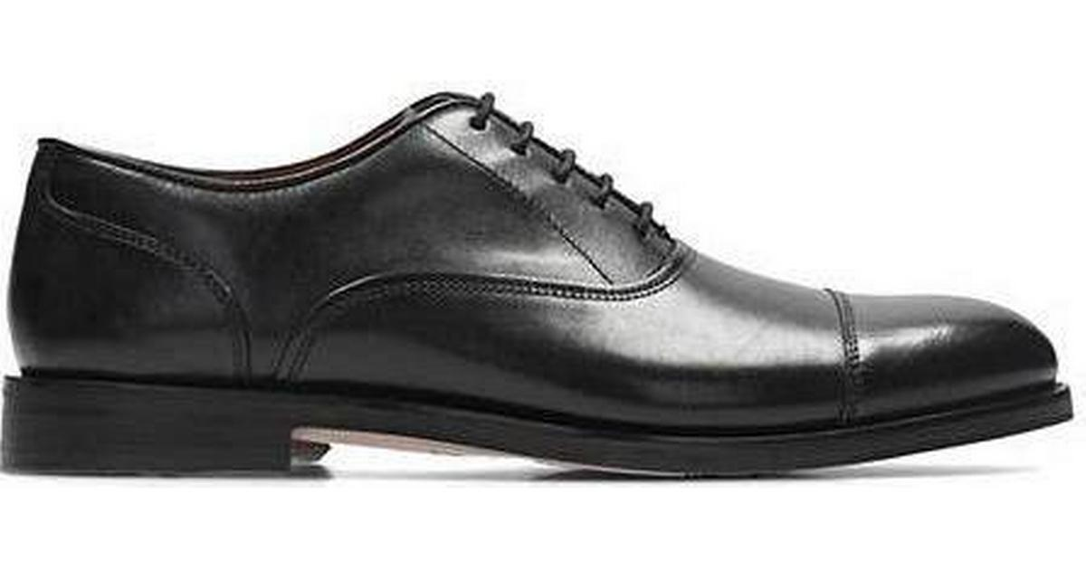 Clarks Coling Boss - Black Leather