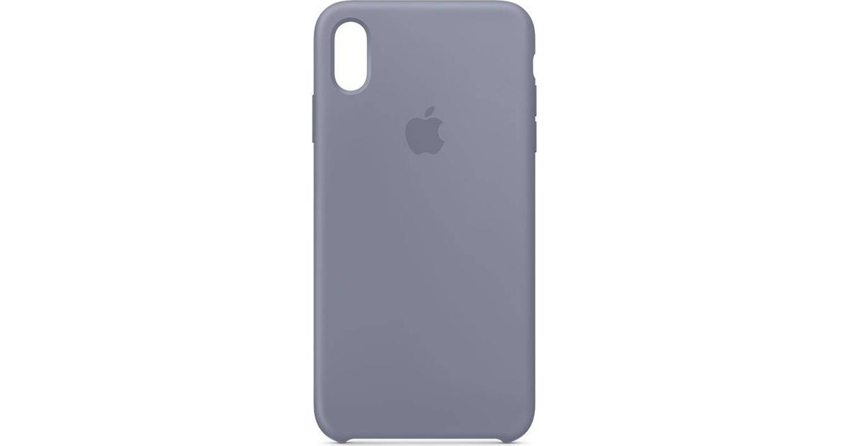 iPhone XS Max Silicone Cover Stone Grey - Mobile Case  Alzashop