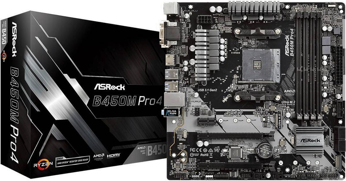 Asrock B450M Pro4