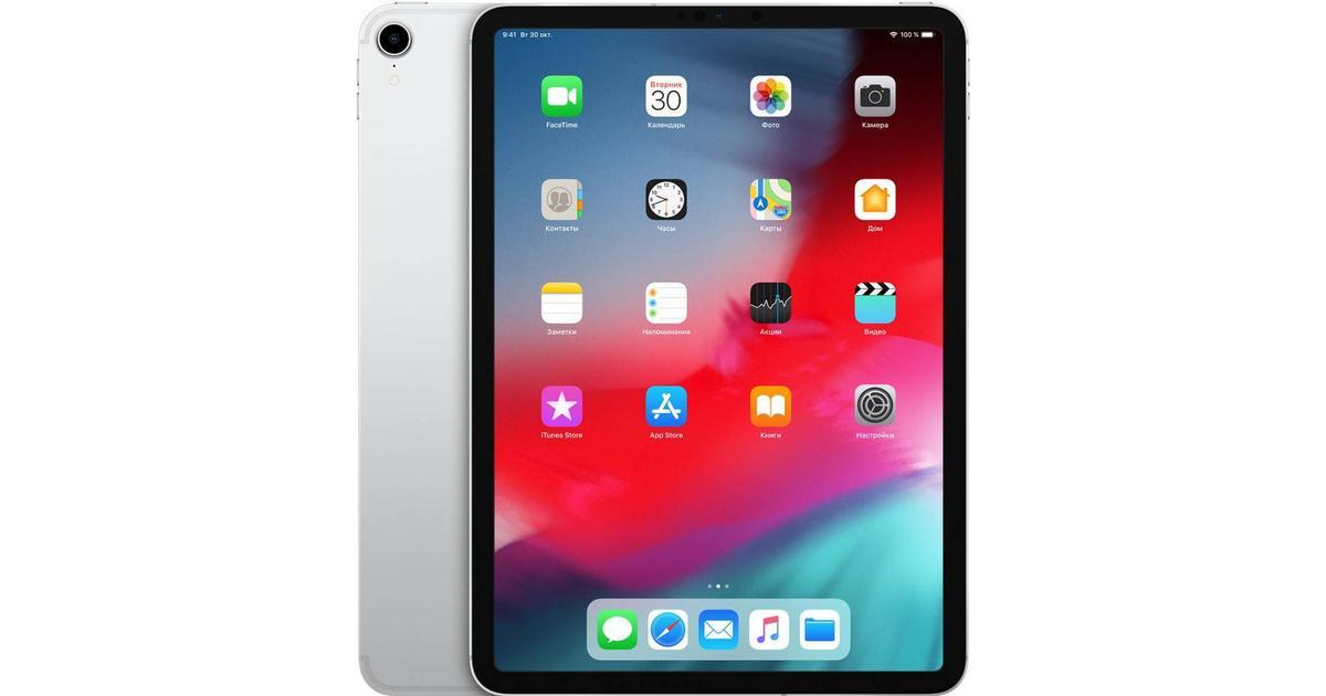 apple ipad pro 2018 11 256gb tablet compare prices pricerunner uk. Black Bedroom Furniture Sets. Home Design Ideas