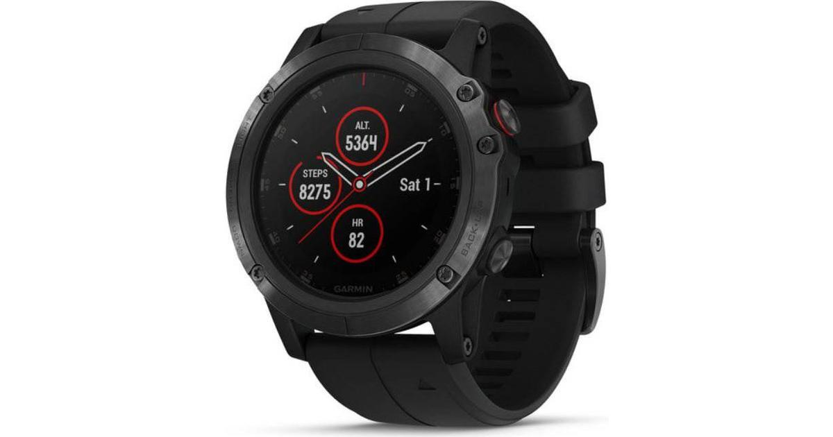 Garmin Fenix 5x Plus Sapphire Compare Prices Pricerunner Uk