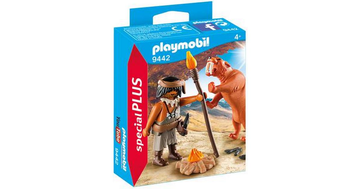 Playmobil Caveman With Sabertooth Tiger 9442 Compare Prices Now