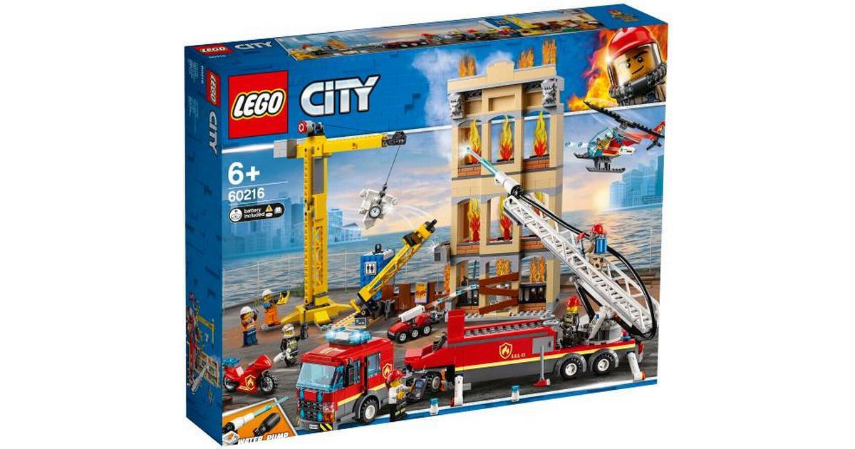 Fin Lego City Downtown Fire Brigade 60216 - Compare Prices YW-88