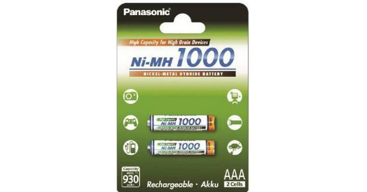 10 x AAA PANASONIC Akku 1,2V 1000mAh BK-4HGAE//BF1
