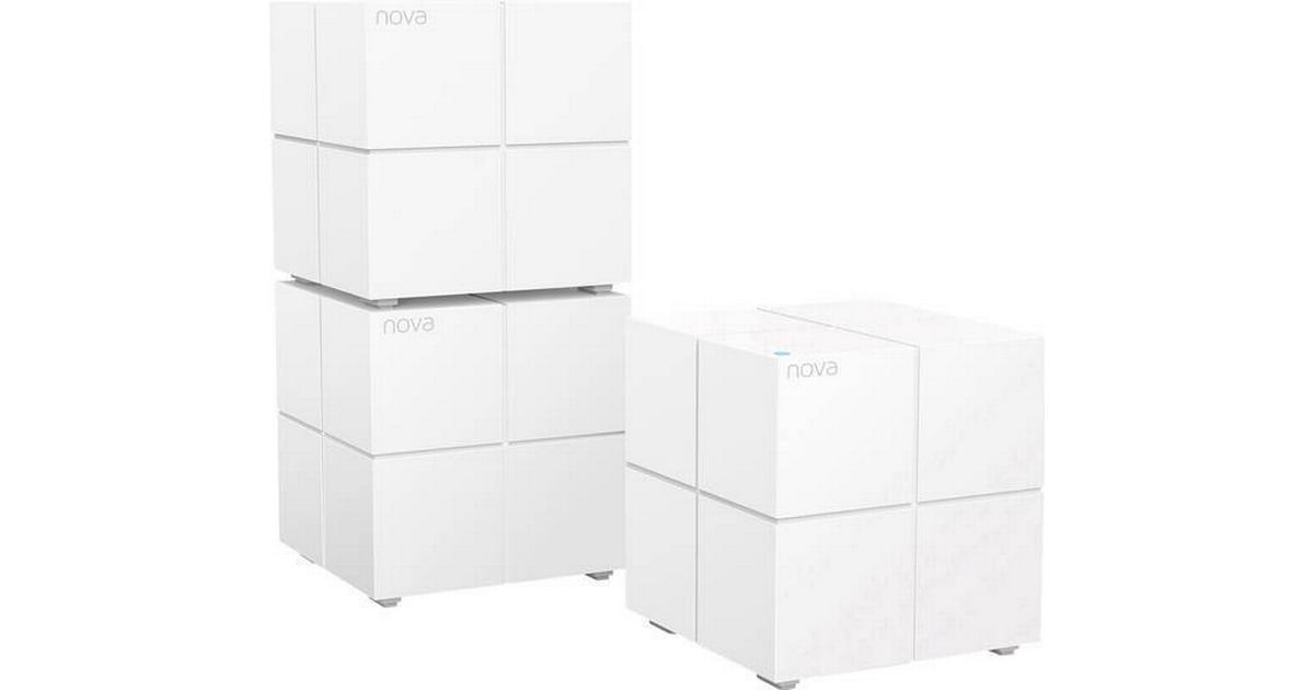 Tenda Nova MW6 3pk Whole Home Mesh Router WiFi System Coverage up to 6,000 sq.ft
