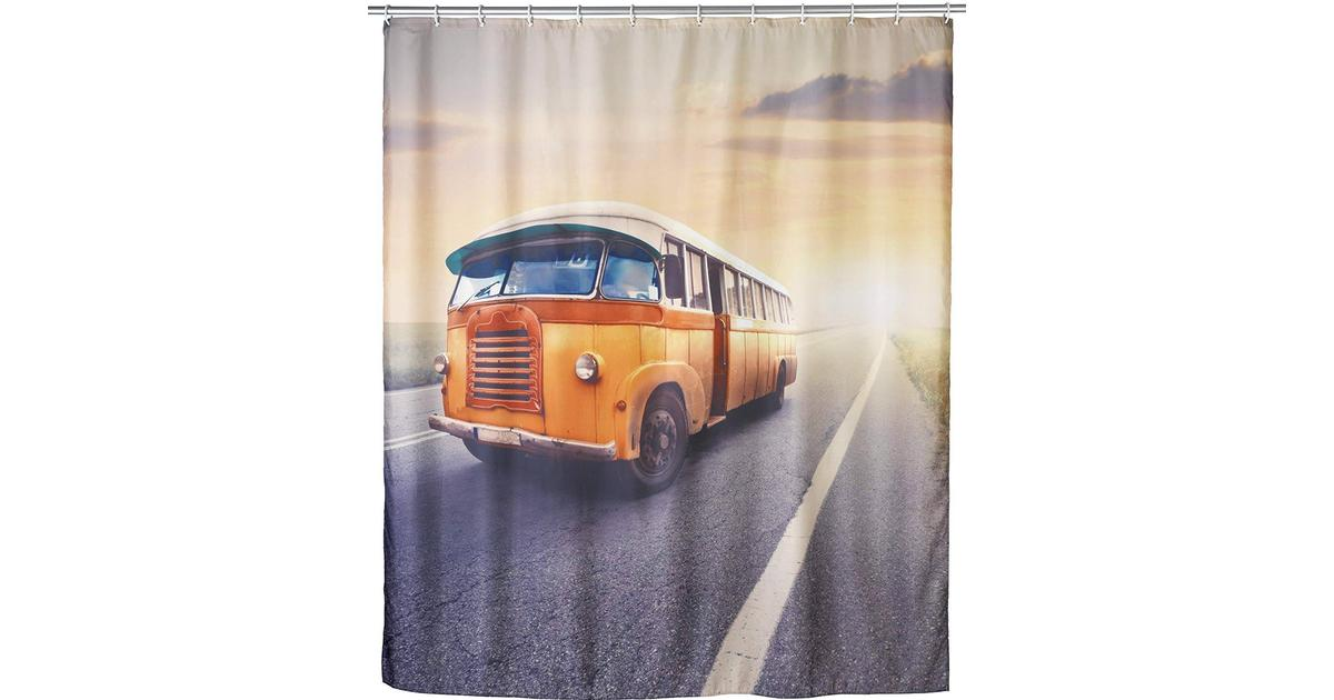 Wenko Storage Basket Vintage Bus Size S Multi-Colour Polypropylene 15 x 19.5 x 9 cm