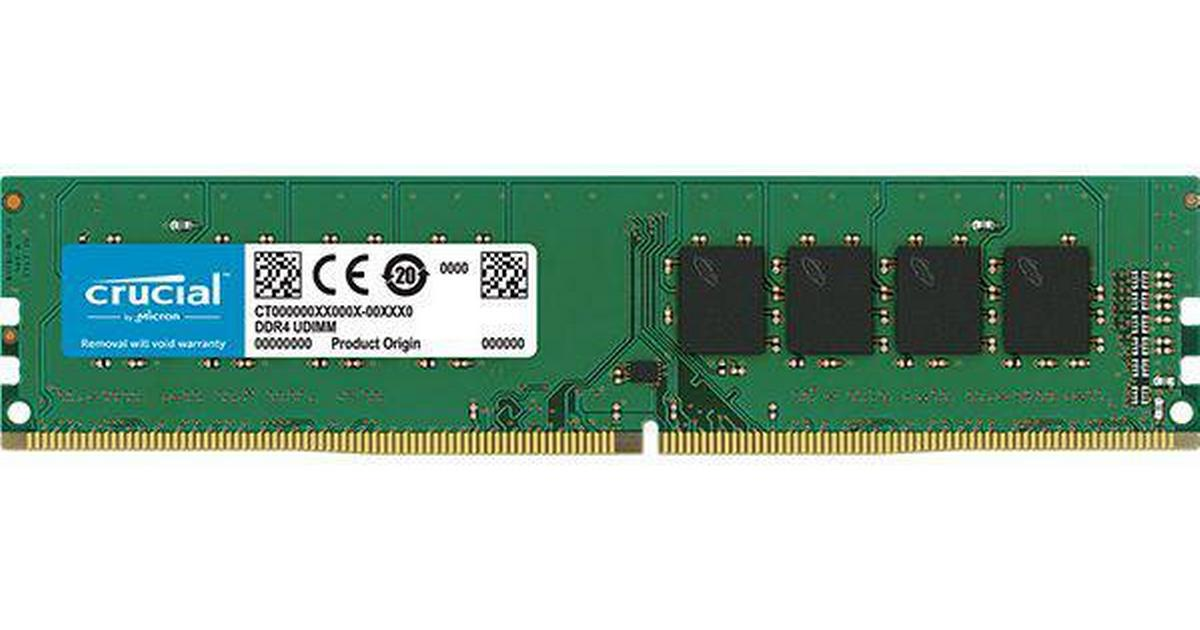16GB ECC UDIMM DDR4-2666 PC4-21300 Memory compatible with CT16G4WFD8266