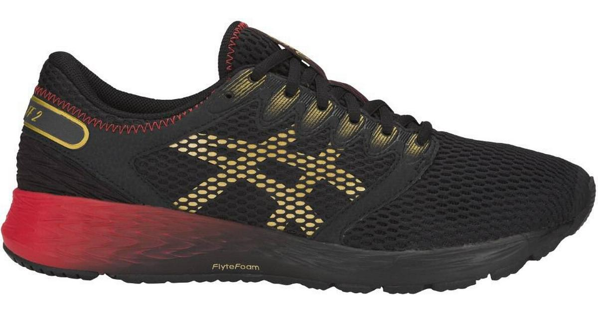 popular agua Descompostura  Asics Roadhawk FF 2 M - Black/Rich Gold • Compare prices now »