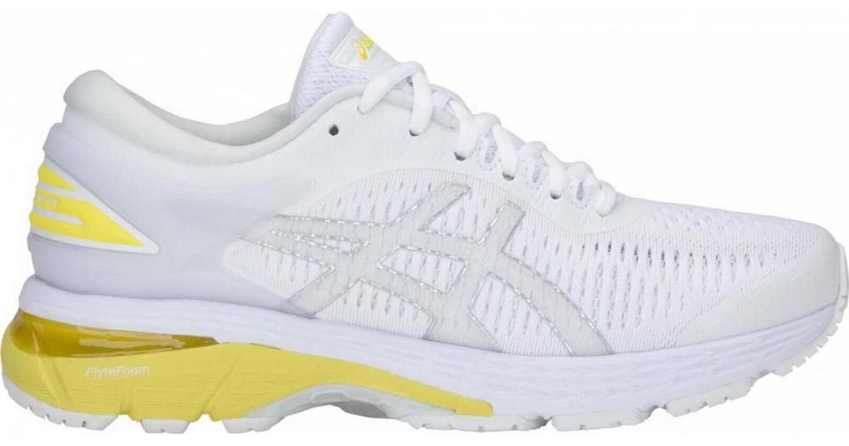 Asics Gel-Kayano 25 W - White/Lemon