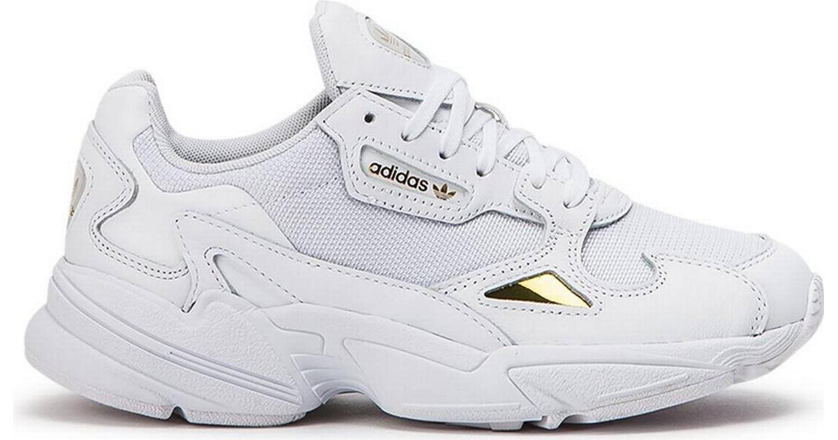 produktion Platå tömma  Adidas Falcon W - Ftwr White/Ftwr White/Gold Met. • Compare prices ...
