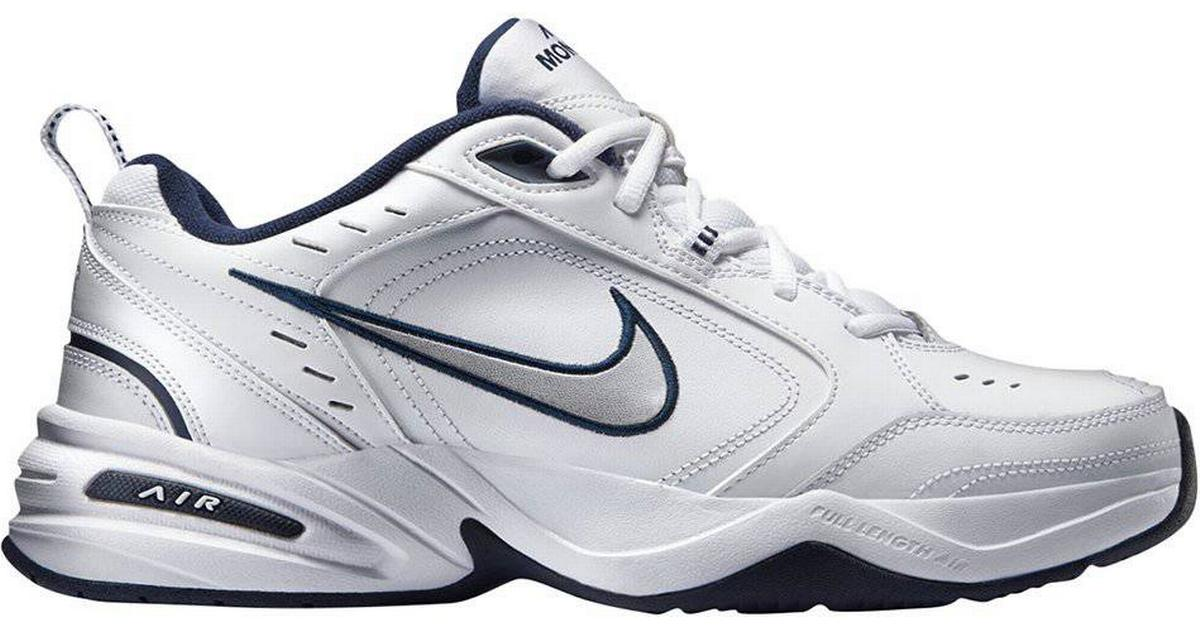 Citar Facturable estrategia  Nike Air Monarch IV M - White/Metallic Silver • Compare prices now »