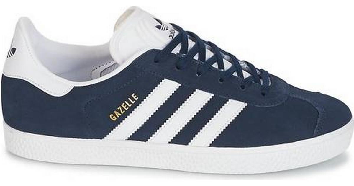 Adidas Junior Gazelle - Collegiate Navy/Running White/Running White