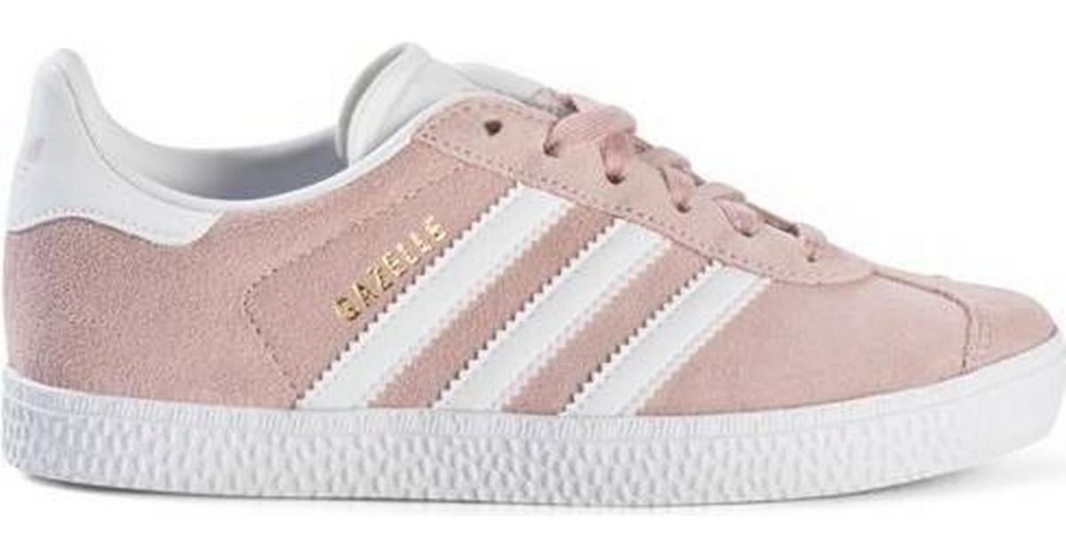 Adidas Kid's Gazelle - Icey Pink/Cloud White/Gold Metallic