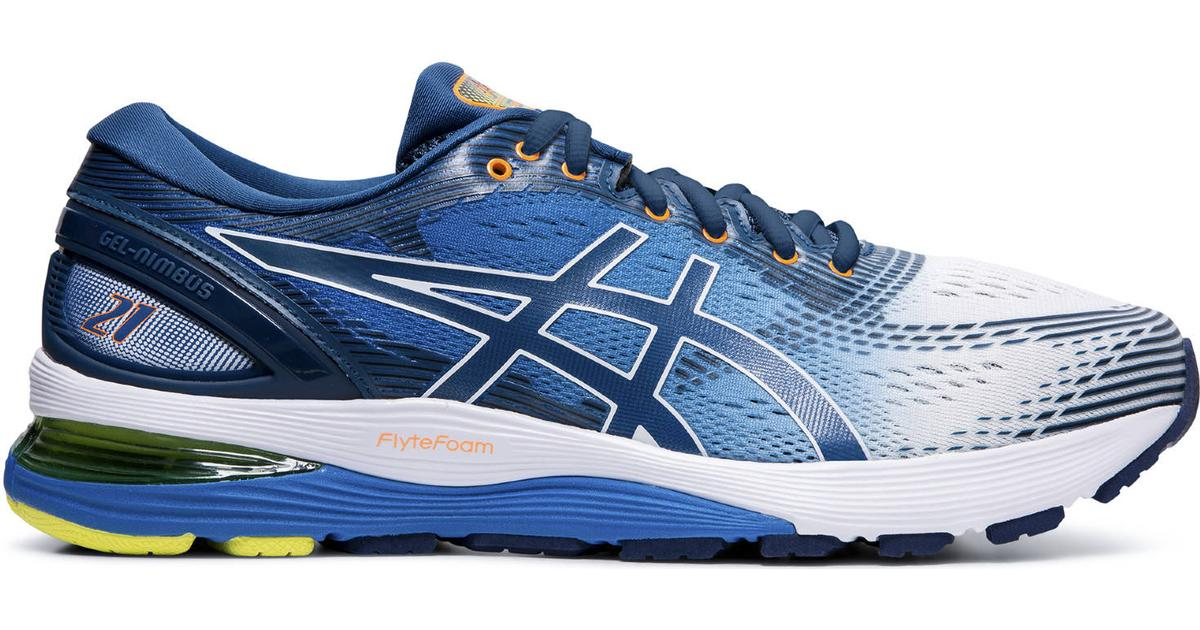 Aclarar Ese Muestra  Asics Gel-Nimbus 21 M - White/Lake Drive • Compare prices now »
